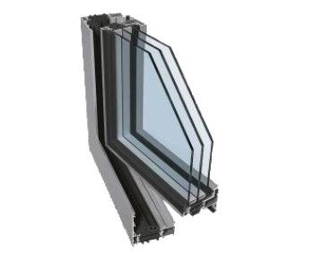 Hliníkové okna PONZIO PE78N